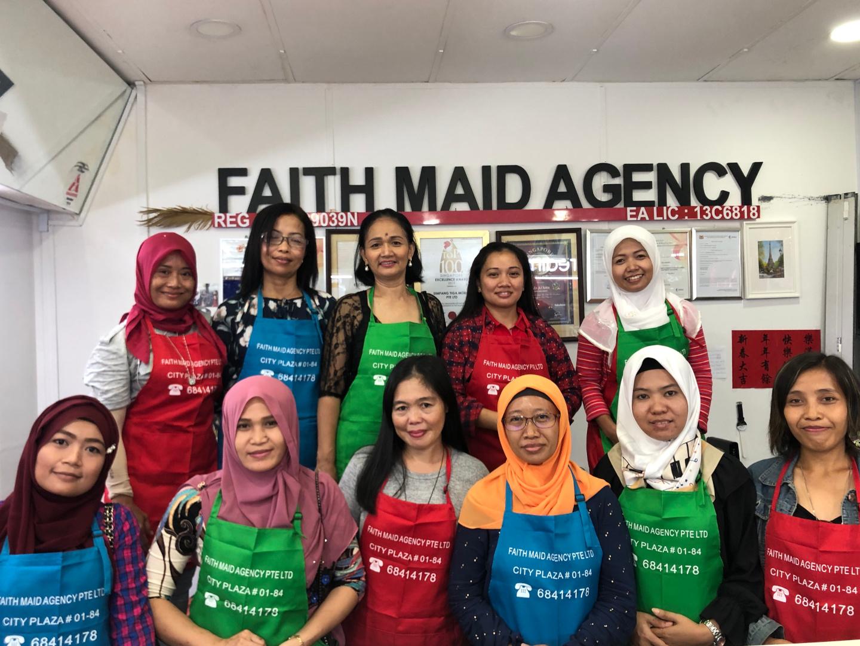 Faith Maid Agency storefront